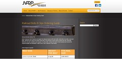 Rail bolt and fastener ordering (wilmacurrie) Tags: rail bolt fastener ordering
