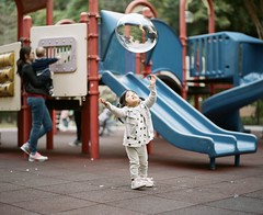 shooting kids playing🐒 needs patience😅, and shooting by film️ and manual focus needs a lot more patience😂💪 #pentax67 #portra400 (SiuDull) Tags: childphotography analoguephotography analogue outdoorphotography naturallight pentax kodak portra400 girl cute children child kids kid wanchaigappark hongkong childhoodmemories candidphotography candid cutegirl bubbles outdoor childrenphotography kidsphotography filmphotography analogphotography analog film color colour littlepeople kidslife buyfilmnotmegapixels filmisnotdead istillshootfilm ishootfilm 6x7 mediumformat 120film playground memories childhood pentaxsmc105mmf24 kodakportra400 pentax67