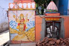 Bundi (mbphillips) Tags: mural rajasthan bundi southasia india 인도 印度 インド asia アジア 아시아 亚洲 亞洲 mbphillips बूंदी राजस्थान sigma18200mmf3563 canon450d geotagged photojournalism photojournalist hadoti हाड़ौती