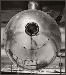 Pima A&S IR #13 2018; B-29 Configured as a Tanker (hamsiksa) Tags: flight flying aviation aviationmuseums airmuseums museums airforces usairforces wwii aircraft airplanes aeroplanes military bombers tankers postwar infrared digitalinfrared infraredphotography blackwhite history historic aviationhistory