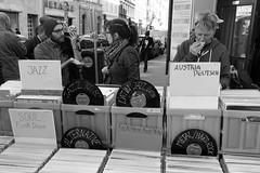 Vienna (fabiolug) Tags: records lps vinyl music crates jazz soul funk disco latin metal hardrock deutsch mobile mobilephone eating food neubagasse flohmarkt market streetmarket fleamarket people street streetphotography vienna wien austria leicammonochrom mmonochrom monochrom leicamonochrom leica leicam rangefinder blackandwhite blackwhite bw monochrome biancoenero 35mmsummicronasph 35mmf2summicronasph summicronm35mmf2asph summicron35mmf2asph 35mm summicron leicasummicron leica35mm couple