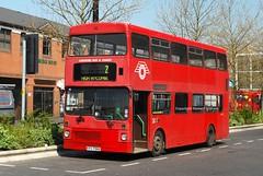 KYV758X High Wycombe 2010 (MCW1987) Tags: carousel mcw metrobus m758 kyv758x mk1 london transport