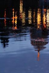 (Px4u by Team Cu29) Tags: dresden elbe spiegelung reflektion wasser nacht blauestunde kunstakademie akademiederbildendenkünste zitruspresse engel licht beleuchtung