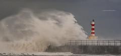 Splash (Squareburn) Tags: amble harbour northumberland coast waves weather seascape