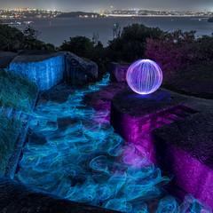 Middle Head LP (alexkess) Tags: lightpainting long exposure sydney australia
