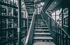 Vier Leben (michael_hamburg69) Tags: hamburg germany deutschland hansestadt atrium architektur architecture bürohaus officebuilding stairs treppe glas glass hanseforum axelspringerplatz3 architekt architect massimilianofuksas lampen beleuchtung ringleuchte