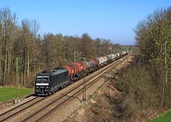 185 572 (maurizio messa) Tags: mrce mau cargo bahn bayern ferrovia freighttrain fret germania germany guterzuge br185 treni trains railway railroad nikond7100