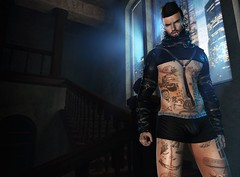 † 999 † (Nospherato Destiny) Tags: secondlife sl avatar event newreleases blogger beard tattoo virtual ay badhairday cubura dappa mancave menonlymonthly mom themenjail tmj ultra volkstone wrongtheowl