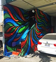 Swirly (wiredforlego) Tags: graffiti mural streetart urbanart aerosolart publicart oahu hawaii hnl honolulu powwowhawaii powwow