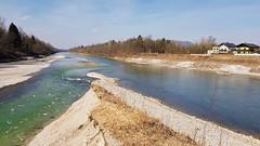 Saalachspitz (John Steam) Tags: salzburg austria salzach saalach border germany river flus fluss grenze confluence mündung samsung galaxy s8 igonta banks