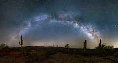 San Manuel Pano S (johnsastrophotos) Tags: milkyway night nightscape astronomy astrophotos astrophotography skyscape camping travel desert tucson arizona nasa apod twanight