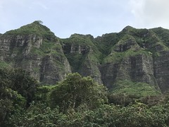 Kualoa Mountains (colonelchi) Tags: iphone 7 iphone7 iphone7plus apple phone smartphone trip vacation family wedding weekend tropical island familyvacation familywedding hawaii hawaiianisland hawaiianislands oahu northshore winter wintertrip islandgetaway getaway relaxation relax beach shore green tropicalisland islands unitedstates unitedstatesofamerica kualoa ranch tour movie film set shoot bus kualoaranch movietour filmset location practical filmlocation television tv tvset televisionlocation filmsettour filminglocation