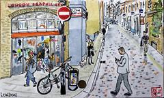 Shelton street,  London WC2 (chando*) Tags: aquarelle croquis sketch watercolor
