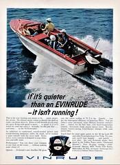1961 Evinrude Outboard Motor Ad (aldenjewell) Tags: 1961 evinrude outboard motor starflite iii ad