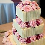 Wedding Cakes : Gorgeous pink wedding cake idea; Featured: Jasalyn Thorne Photography thumbnail
