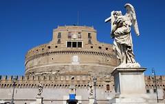 Castillo de Sant'Angelo (Roma, Italia, 16-10-2017) (Juanje Orío) Tags: 2017 roma rome italia italy patrimoniodelahumanidad worldheritage escultura sculpture castillo castle fortaleza fortress