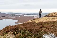 Ballycroy vista (mickreynolds) Tags: mulranny ballycroy nx500 comayo ireland wildatlanticway hike selfie heather mountain atlantic inlet