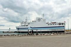 Jiimaan (ComradePhoto) Tags: peleeisland canonrebelt6 mvjiimaan summer vacation ferry ship travel clouds lakeerie greatlakes