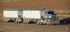 McNaughts (quarterdeck888) Tags: trucks transport semi class8 overtheroad lorry heavyhaulage cartage haulage bigrig jerilderietrucks jerilderietruckphotos nikon d7100 frosty flickr quarterdeck quarterdeckphotos roadtransport highwaytrucks australiantransport australiantrucks aussietrucks heavyvehicle express expressfreight logistics freightmanagement outbacktrucks truckies kenworth t904 squaretanks roadtrain bellydump timpte timptetrailers superhopper superhopperaustralia hoppertrailers mcnaughts