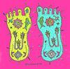 Buddhapada '17 (trudeau) Tags: feet buddhist hindu stylized swastika amulet lamp fish lotus