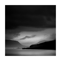 Threatening skies! (Nick green2012) Tags: iceland blackandwhite square moody silence