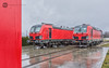 [RED] DMV Cargo Rail: 193 972 & 192 961 (BackOnTrack Studios) Tags: dmv cargo rail siemens vectron electric locomotive bulgarian railways ruse bulgaria double red fighter