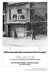 1978 The Grinch (albany group archive) Tags: albany ny bar nightclub metroland 1978 the grinch eagle street irish pub old vintage photos picture 1970s photo photograph history historic historical
