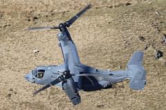 Bell Boeing CV22 Osprey 11-0061 Knife72 066-1 (cwoodend..........Thanks) Tags: wales snowdonia lfa7 machlooplfa7 machloop mach roundabout usaf 7thspecialoperationsunit rafmildenhall mildenhall lowfly lowlevel bellboeing osprey cv22 110061 knife72 bwlchexit exit