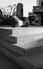 monoliths of Little Tokyo, DTLA (carlfieler) Tags: canona1 canonfd fd55mm12 hp5 ilford ilfordhp5 1600iso hp5pushed losangeles littletokyo dtla grain monolith