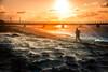By the beach (Maria Eklind) Tags: ribban beach malmö strand sandstorm ribersborgsstranden kanal city water öreund weather sweden winter skånelän sverige se