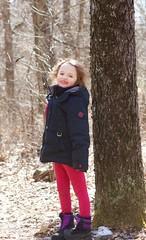 Walking at Mirror Lake - 12 (Keppyslinger) Tags: wisconsin nature mirrorlake woods family tree walkingwithdad daughter