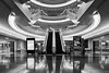 The Haneda Market (davidgevert) Tags: architecture bw bwarchitecture d800 davidgevert gevertphotography japan modernarchitecture nikon24mmf35pce nikond800 nikonperspectivecontrol nikontiltshift reflection tiltshift tokyo tokyoarchitecture travelphotography haneda hanedaairport escalator