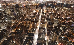 New YORK City (Boutillier Geoffrey) Tags: town ville photography street colors light newyorkcity america usa photographie photo manhattan nightpictures lights panasonic gx7 night ny city newyork