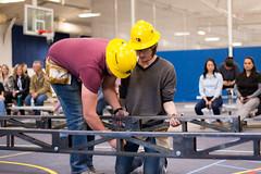 SteelBridgePractice2018_AB-15 (College of Engineering and Computational Sciences ) Tags: 2018 agataboguckaphotographer cecs coloradoschoolofmines mines steelbridgeteam civilengineering