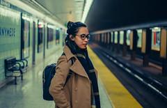 line 2 (bokehpandan) Tags: toronto ttc subway subwayphotography people faces portrait portraiture leadinglines 35mm