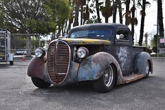 Blood Drive Car Show 2018 (USautos98) Tags: 1938 ford pickuptruck hotrod streetrod custom