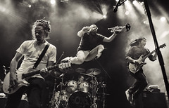 Soja (oscarinn) Tags: soja mexico mexicocity music live concert reggae elplaza df cdmx jump dynamic blackandwhite monochrome