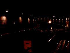 Subway tunnel, São Paulo, Brazil (leitevictorhugo) Tags: são paulo brazil canon canonsx400is subway people christianity amauter blackandwhite monochromatic lights cirty skyline rammstein dogs history