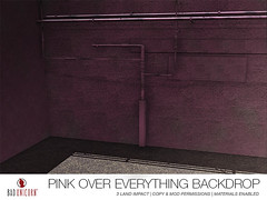 NEW! Pink Over Everything Backdrop! (Bhad Craven 'Bad Unicorn') Tags: • bhad craven second 2l life lindens profile picture photography bad unicorn badunicorn clothing buc bu secondlife graphics gfx graphic design photos pics photo sl urban mesh exclusive store blog shadows high quality production portrait image hd definition original meshes meshed 3d game characters art gaming concept concepts new top work progress wip hypebeast hype beast bae back drops backdrops cool city pink basketball pillars graffiti