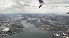Flying - Manhattan Skyline New York City Central Park Midtown (robertfekete) Tags: 432 park freedom tower empire state harlemriver eastriver