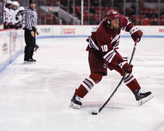 HockeyEastvNortheastern2-16 (dailycollegian) Tags: umass amherst university massachusetts matthews arean arena boston mass ice hockey loss east northeastern sikura george mika team celebrate jack suter oliver chau