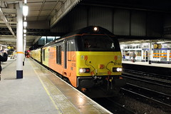 Colas Rail 67023, Sheffield 08/03/18 (TC60054) Tags: colas rail freight railfreight class 67 general motors emd train locomotive ews dbs dbc db schenker sheffield south yorkshire network test plpr