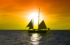 Winter in Key West (Len Radin) Tags: keywest photoshop goldenhour sails florida