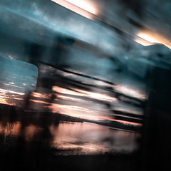 Glitch? (M.patrik) Tags: clouds glitch sky train travel lg nexus 5x smartphone