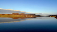 Reflection on Kirbister (stuartcroy) Tags: orkney island kirkwall kirbister reflection beautiful blue bay scotland sony scenery sea still sky colour clouds orphir ruely vista for sure