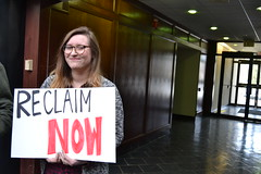 RECLAIM Action 3/14/18 in Lexington (Kentuckians For The Commonwealth) Tags: reclaimact coalmining justtransition brightfuture mitchmcconnell grassrootsaction directaction