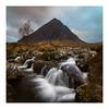 Buachaille (jos.pannekoek) Tags: buachailleetivemor scotland moody dramatic square waterfalls waterfall glencoe tokina1116mmf28 tokinaaf1116mmf28 tokina landscape landschap d500
