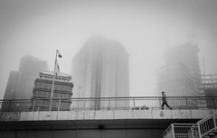 City of İstanbul (dilaynurtezgul) Tags: istanbul city şehir citylife buildings fog sis cityscape life istanbulcity storyofistanbul story turkey türkiye bnw blackandwhite mood creepy cityscapes cityviews view angle siyahbeyaz ciudad blancoynegro stadt sky up