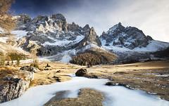 Val Venegia (Kevin.Grace) Tags: dolomites val venegia valley ice river mountainjs sky italy