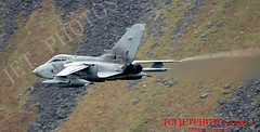 RAF Tornado GR4 (JetPhotos.co.uk) Tags: aviation bobsharplesphotography defence hills jetphotoscouk lfa7 lowflying lowflyingarea7 mountains raf roundabout royalairforce snow snowdonia tornadogr4 valley valleys wales welsh za472 aircraft training winter